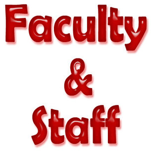 Get to know our Staff and Faculty!