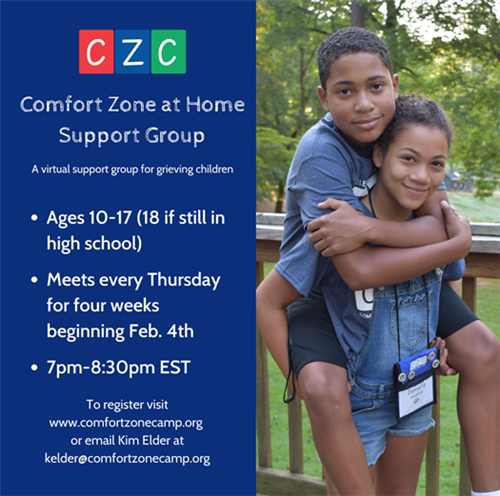 ComfortZome Support Group